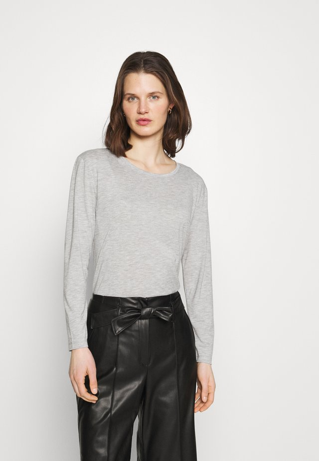 RELAXD CREW - Maglietta a manica lunga - grey