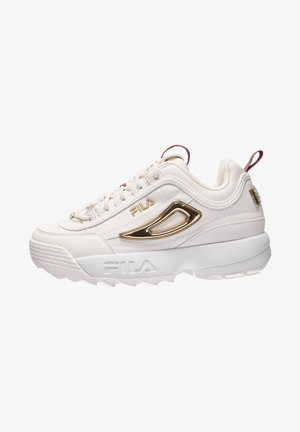 Sneakers - marshmallow / gold