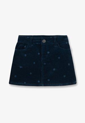 ZEBRA  - Mini skirt - blau