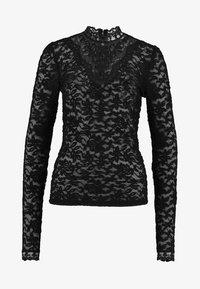 Rosemunde - T-SHIRT LS - Bluser - black - 4