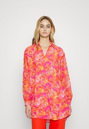 VIBRANT CEDAR - Button-down blouse - multi-coloured