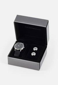 Emporio Armani - SET - Horloge - black - 5