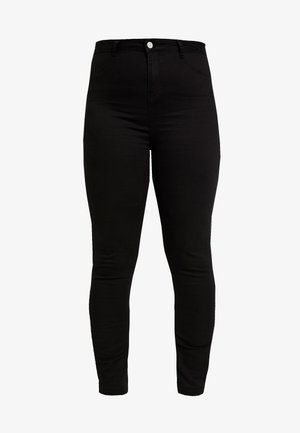 LAWLESS HIGHWAISTED SUPERSOFT - Skinny džíny - black
