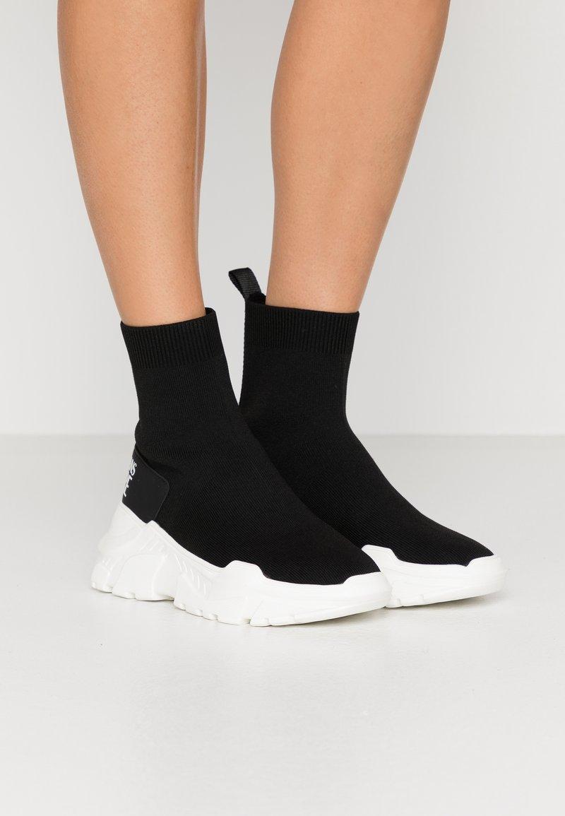 Versace Jeans Couture - Vysoké tenisky - nero