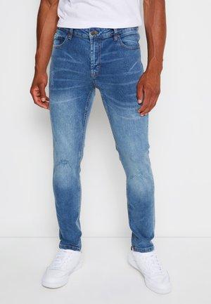 MR RED LIGHT DESTROY - Slim fit jeans - sicily blue