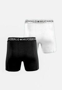 MUCHACHOMALO - 2ER PACK - Boxerky - black / white - 1