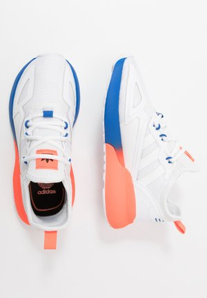 ZX - Sneakers laag - footwear white/red/blue