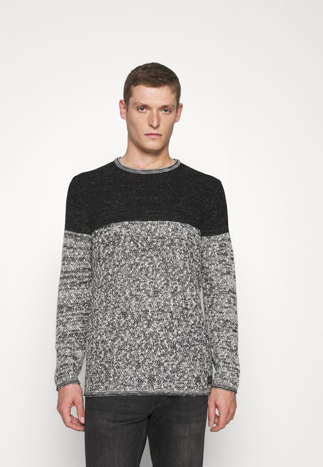 HAMILTON NEW ROUND NECK - Maglione - black