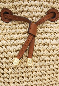 Lauren Ralph Lauren - CROCHET DEBBY - Handbag - natural/tan - 8