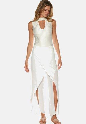 CELEBRATE,WRAP CREPE  - Trousers - white