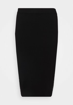 TAPE TUBE SKIRT - Blyantnederdel / pencil skirts - black