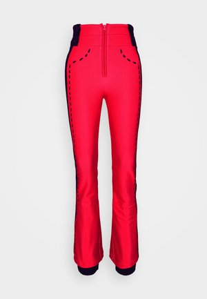 DIXY SOFT - Snow pants - red
