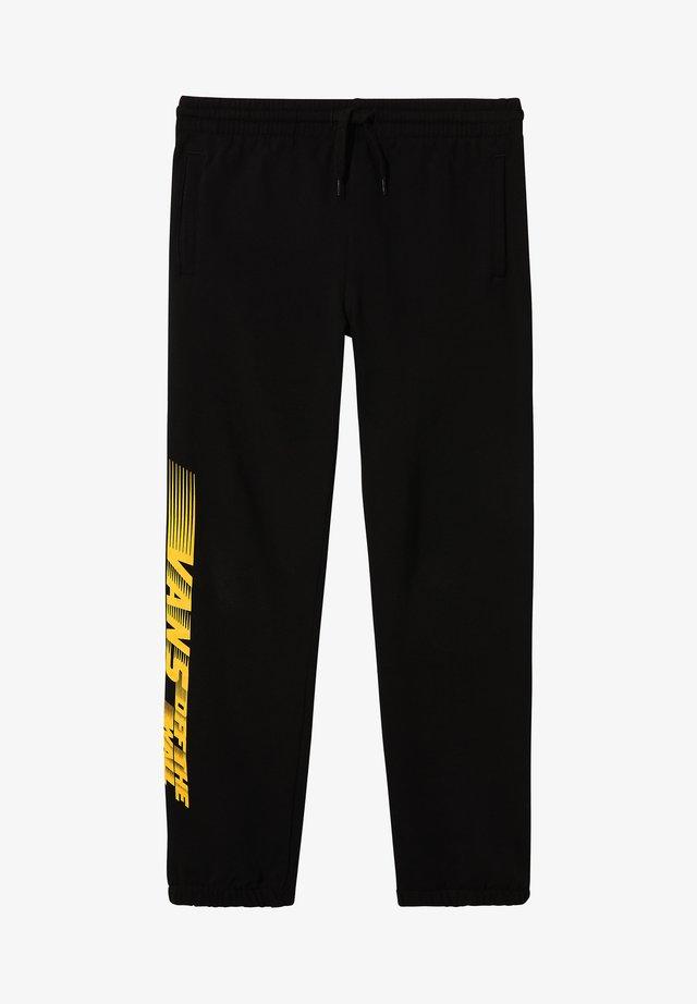 BY RACERS - Pantalon de survêtement - black
