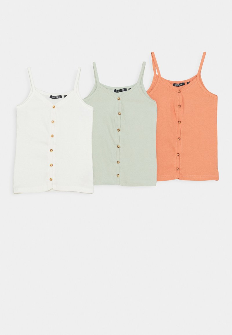 Blue Seven - TEEN GIRL 3 PACK - Top - offwhite/ginger/gletscher