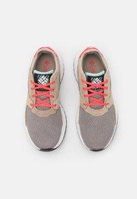 Columbia - WILDONE GENERATION - Hiking shoes - ti titanium/red coral - 3