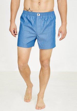 Boxer shorts - blue striped