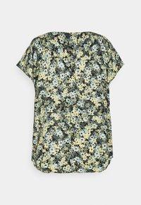 MY TRUE ME TOM TAILOR - BLOUSE WITH SHOULDER PLEATS - Print T-shirt - multicolor - 1