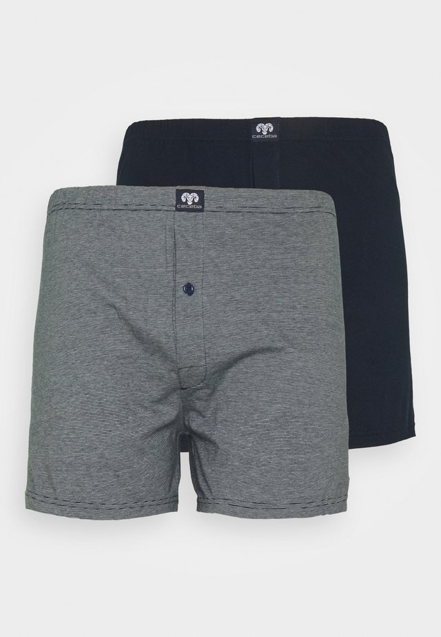 2 PACK - Boxershorts - blue medium