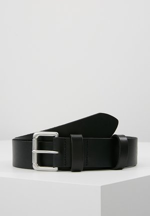 ROLLER BUCKLE BELT - Belt business - black