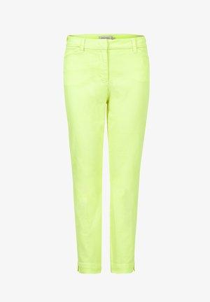 PAPRI - Trousers - neon yellow