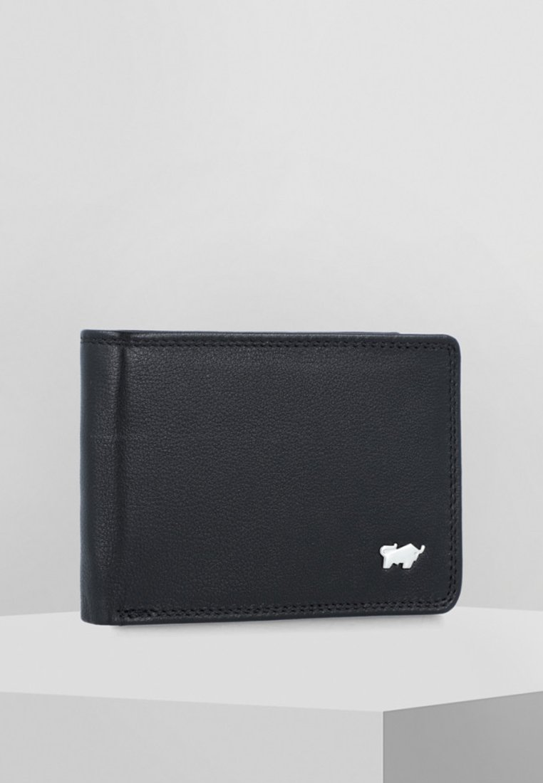 Braun Büffel - GOLF EDITION GELDBÖRSE LEDER 10 CM - Wallet - black