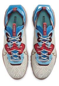 Nike Sportswear - REACT VISION  - Trainers - light bone photo blue team red terra blush - 1