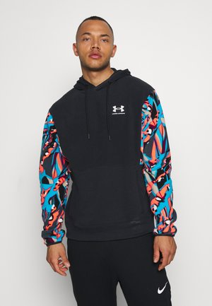 PACK PRINTED HOODIE - Sweat à capuche - black