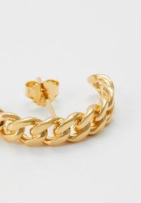 Vibe Harsløf - HOOP CHAIN LARGE  - Earrings - gold - 4