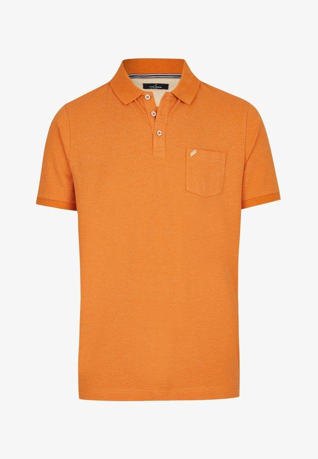 Poloshirt - cognac