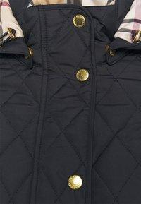Barbour - MILLFIRE QUILT - Light jacket - navy/hessian - 3