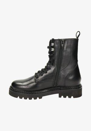 SATURNO - Veterboots - zwart