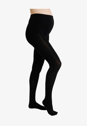 MATERNITY TIGHTS - Tights - black