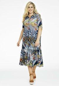 Yoek - Shirt dress - blue - 1
