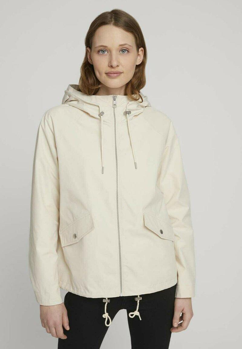 TOM TAILOR DENIM - Summer jacket - light beige