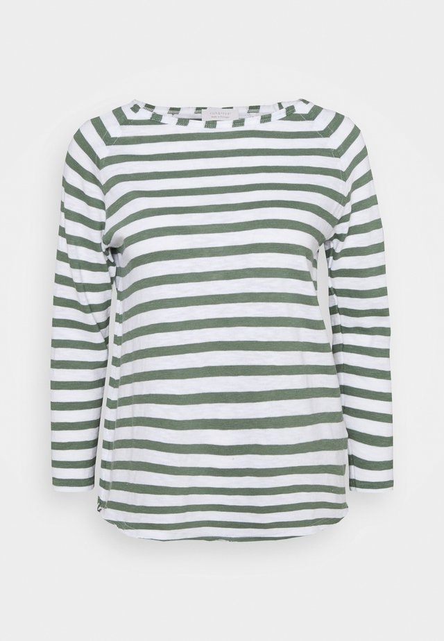 STRIPED - Pullover - eukalyptus