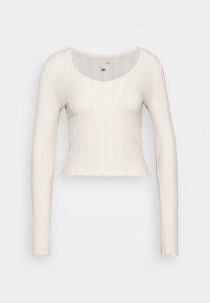 PCSAOREM - Camiseta de manga larga - whitecap gray