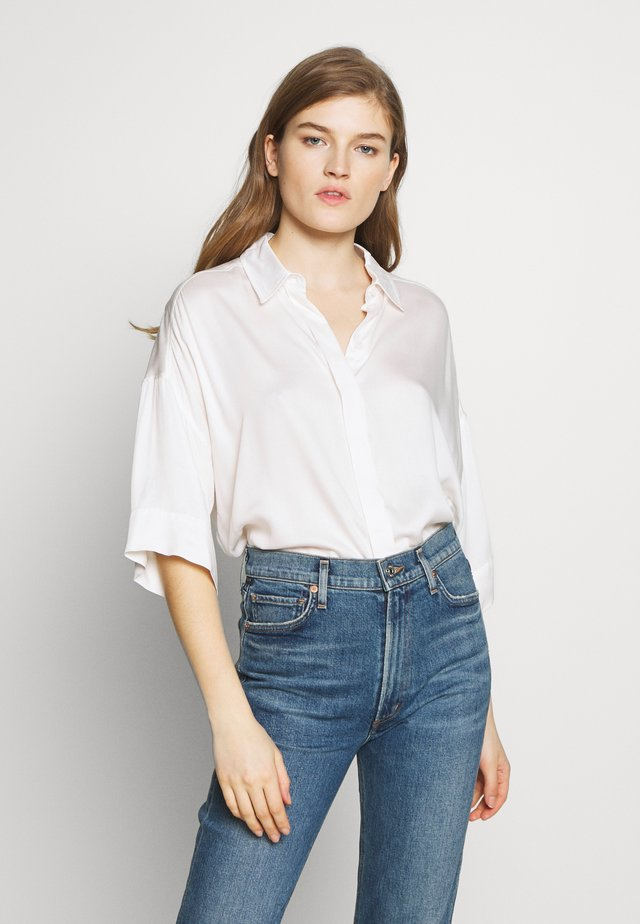 THERRY - Button-down blouse - coral