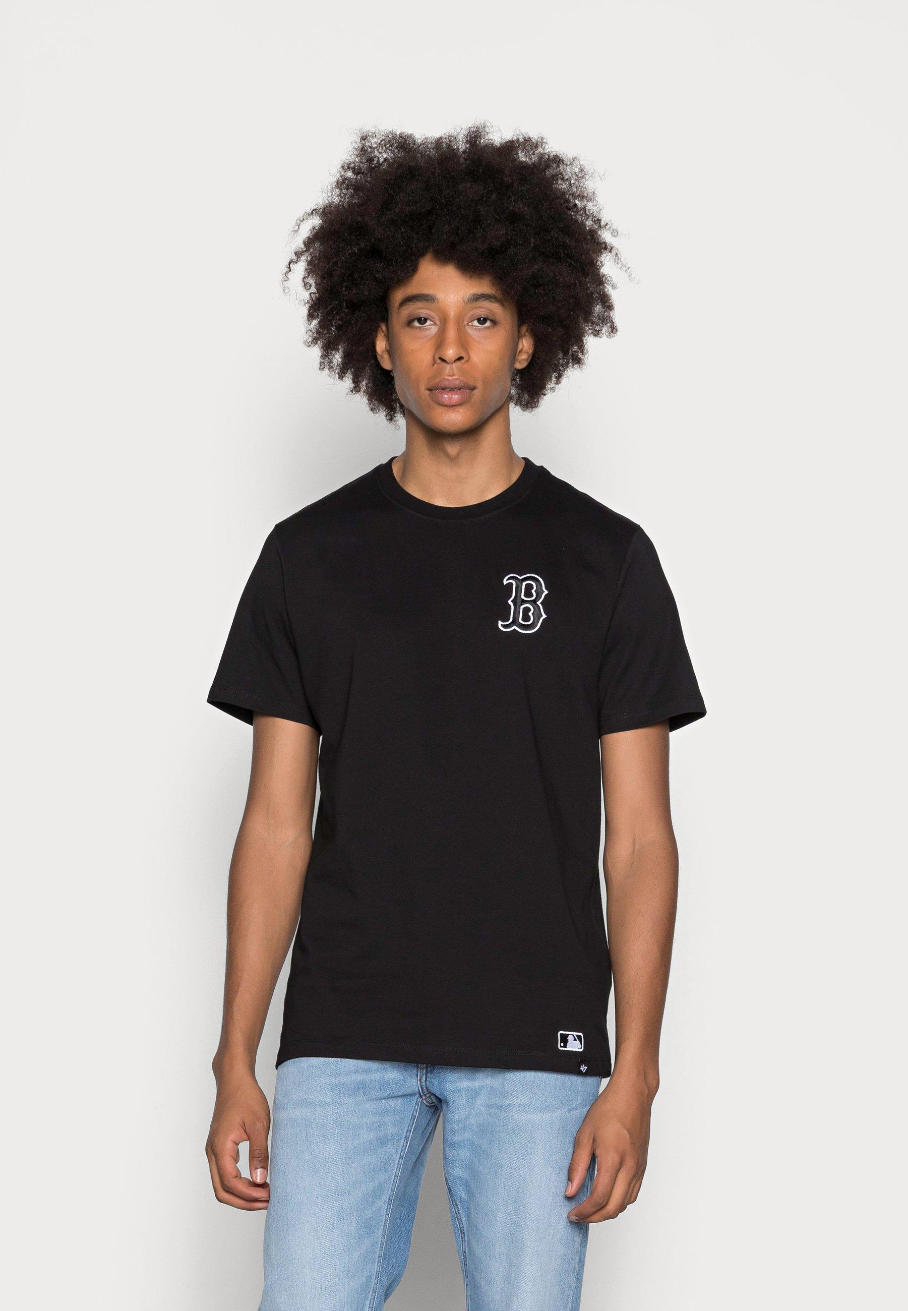 Men BOSTON RED SOUTHSIDE TEE - Basic T-shirt