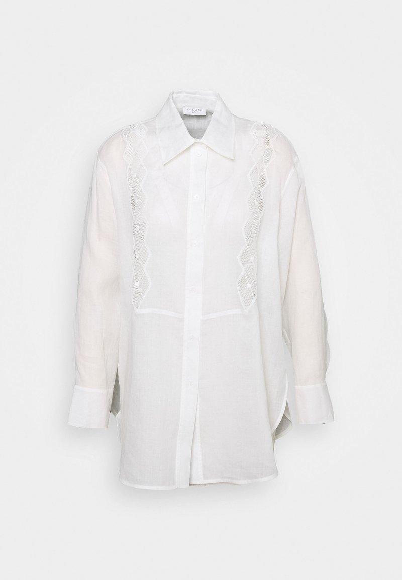 sandro - Button-down blouse - ecru