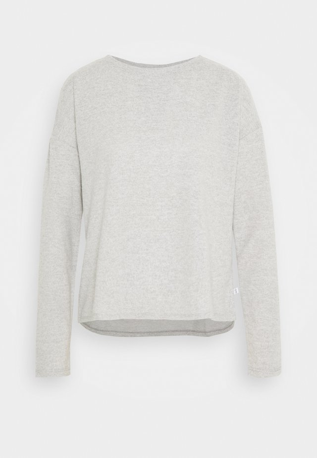 LANGARM - Svetr - grey melange
