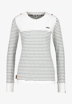LEONIE - Long sleeved top - pearl