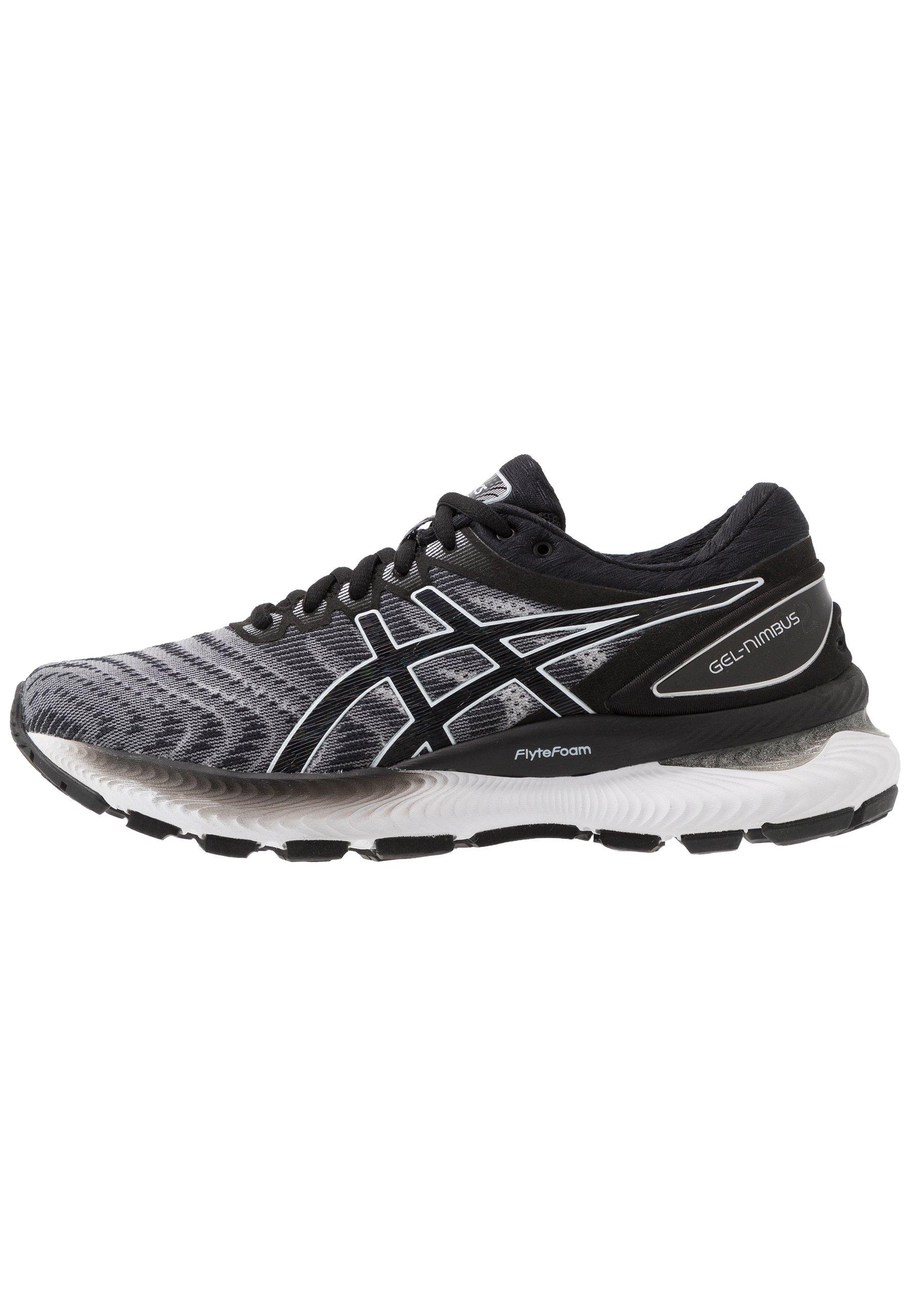 ASICS GEL-NIMBUS 22 - Zapatillas de running neutras - white/black/blanco -  Zalando.es