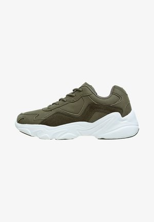 CHUNKY - Sneakers laag - olive