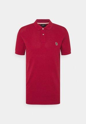 SLIM FIT - Polo shirt - dark red