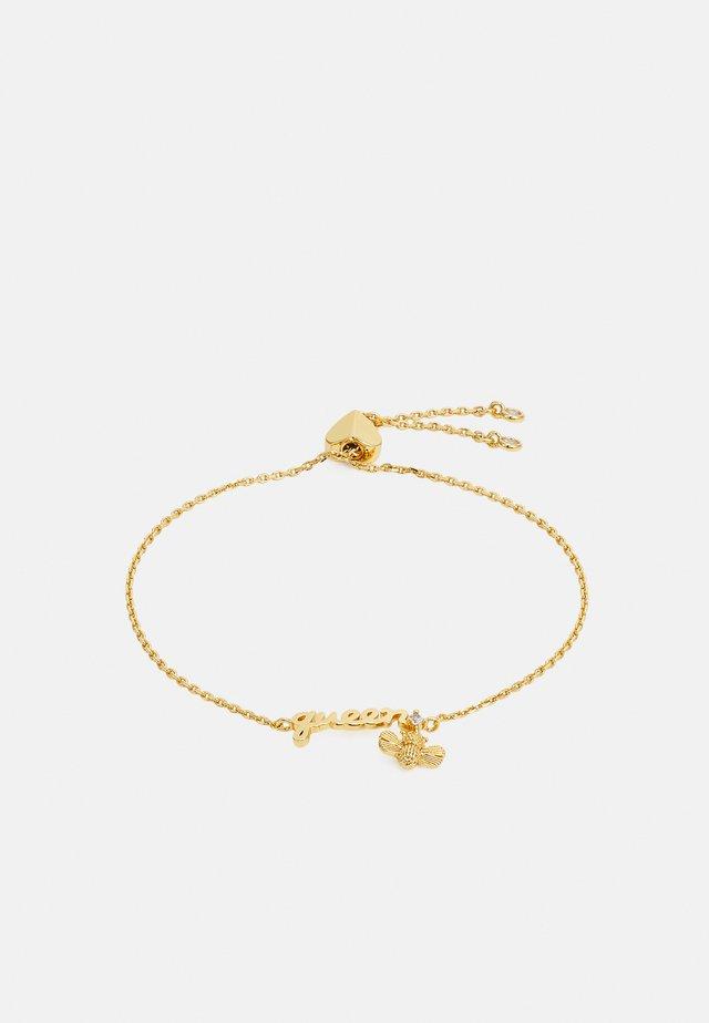 QUEEN BEE SLIDER BRACELET - Bracelet - gold-coloured