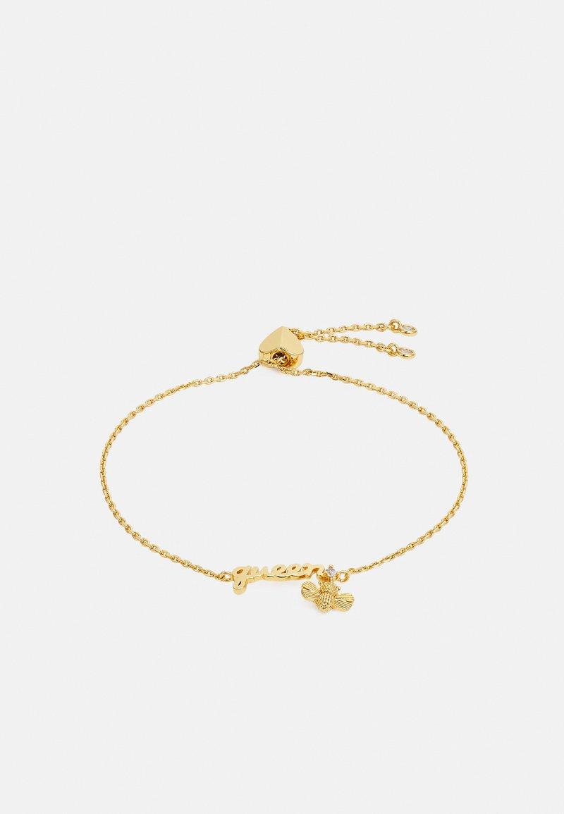 kate spade new york - QUEEN BEE SLIDER BRACELET - Armband - gold-coloured