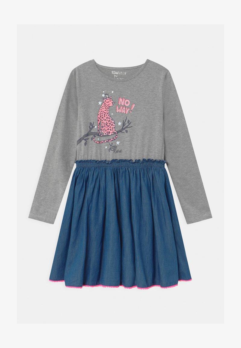 Staccato - KID - Jersey dress - silver melange