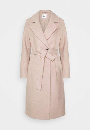 ONLGINA WRAP COAT  - Zimní kabát - humus