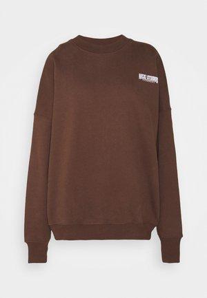 EXCLUSIVELOGOCREWNECK - Sweatshirt - deliciosobrown