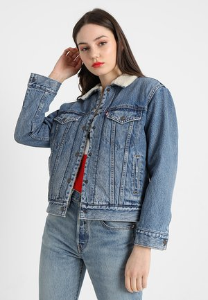 EX-BF SHERPA TRUCKER - Veste en jean - addicted to love